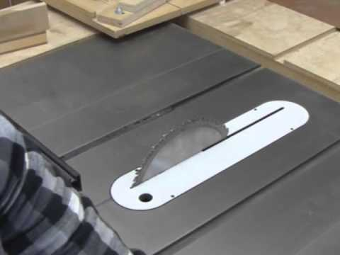12 Steps to Segmented Turning Excellence: Step 5 - Table Saw Setup