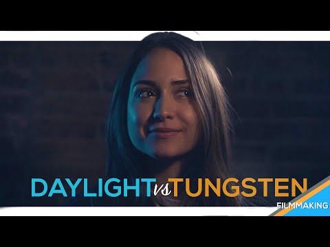 CINEMATIC LIGHTING: Understanding Daylight vs Tungsten