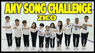 Download Mp3 Anysong Challenge | Zico 지코 - Any Song 아무노래