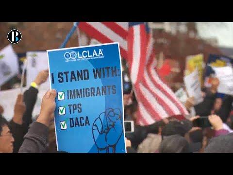 """Miles de personas piden ante Congreso de EEUU solución para los """"soñadores"""""""