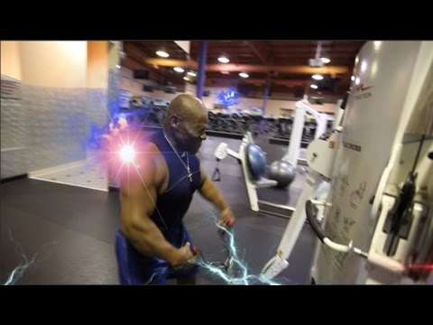 Part #2 Ron's Shoulder Workout after Chest Exercises (Chest, Shoulder, Triceps)