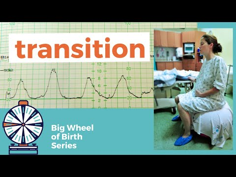 What is TRANSITION in labor like?