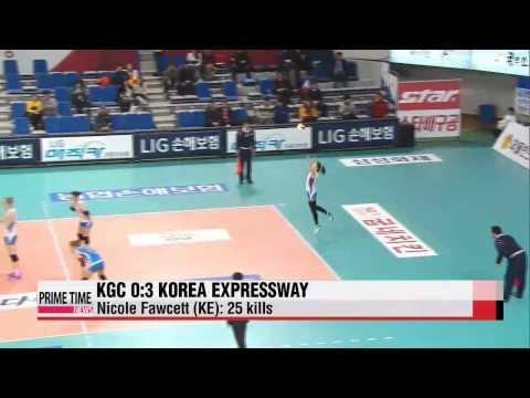 V-League: KGC vs. Korea Expressway, Samsung Hwajae vs. OK Savings Bank   V리그: KG