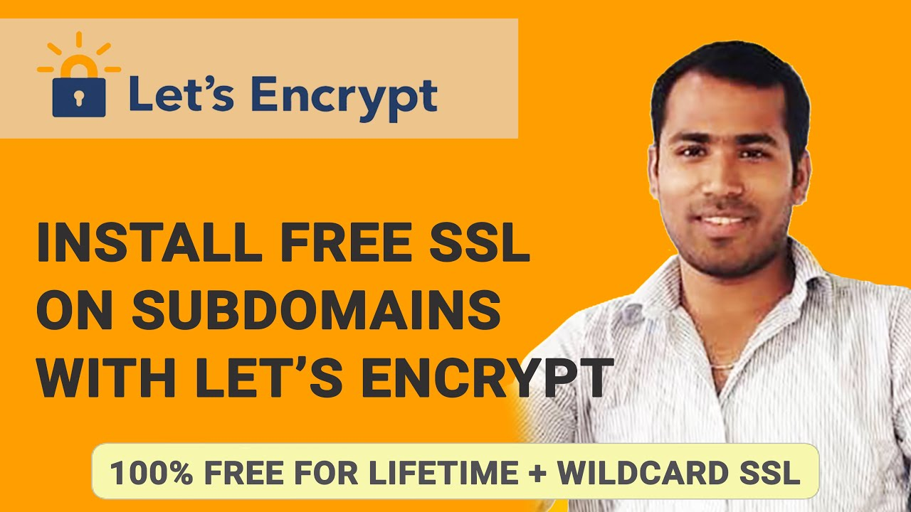 Install Free Ssl On Subdomains Using Lets Encrypt Digitalocean