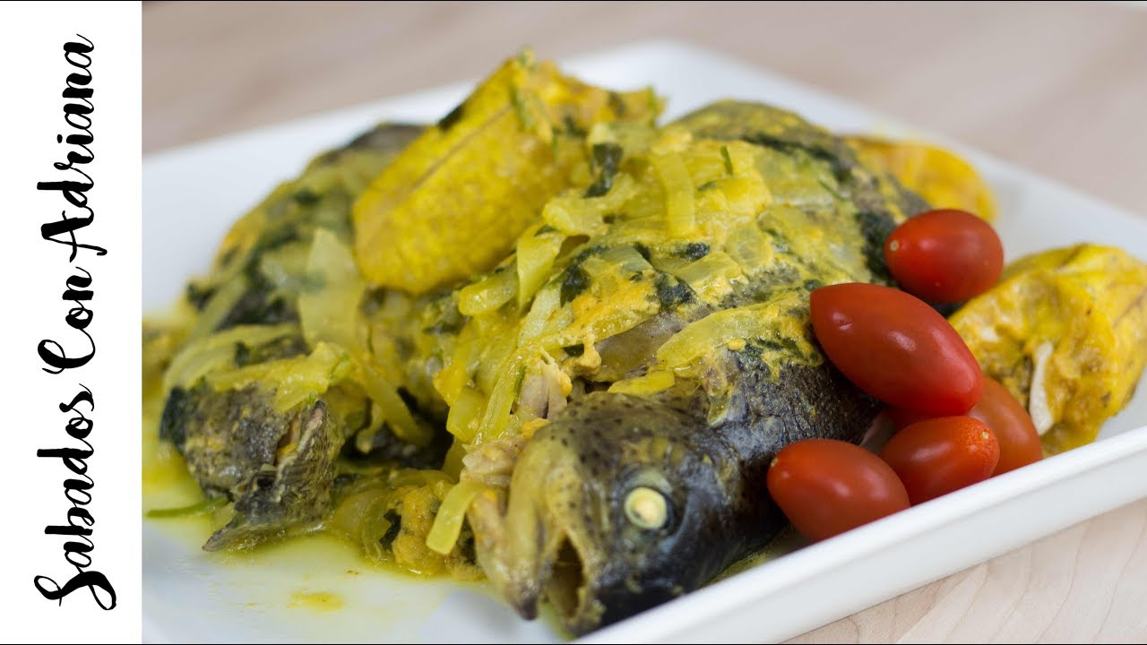 337d46cde7f Tapado de pescado Colombiano sabadoscon Adriana - YouTube