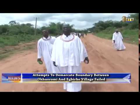 Attempts to demarcate boundary between Okhoromi and Egbirhe failed