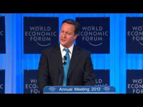 Davos 2012 - David Cameron