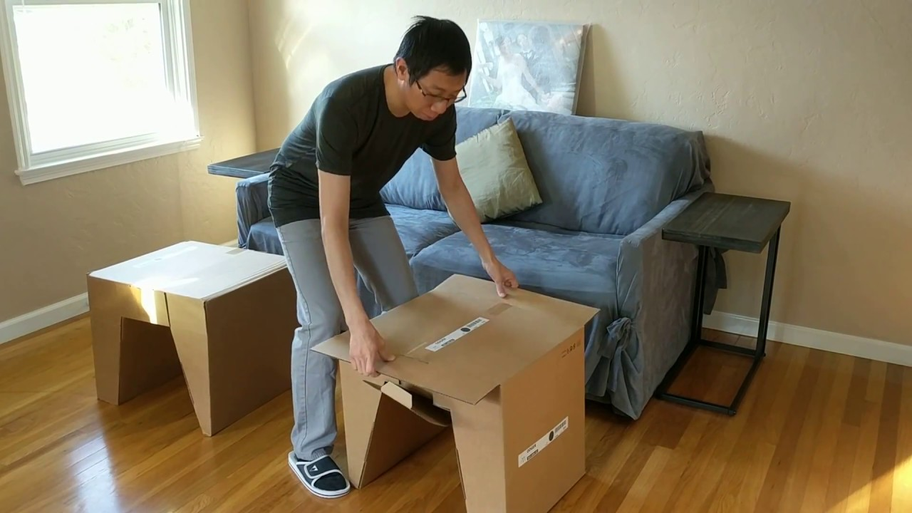 Assembling ikea odger chairs youtube for Ikea sedia odger