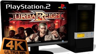 PCSX2 1 5 0 PS2 Emulator Urban Reign 2005 Ingame 4K 60FPS Test 2