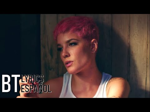 Halsey - Without Me (Lyrics + Español) Video Official