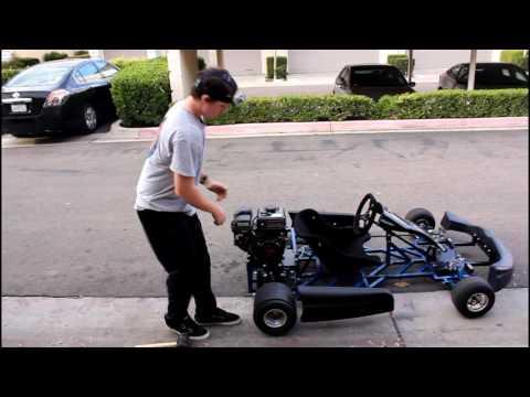 Homemade Drift Go Kart - INSANE Drifting Romp compilation!