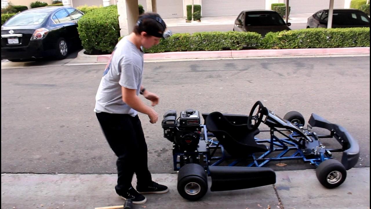 Homemade Drift Go Kart Insane Drifting Romp Compilation Youtube