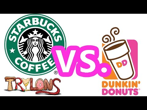 starbucks vs dunkin donuts Starbucks is everywhere while that cry became a rampant cliché in american pop culture, and fodder for many a late-night talk show.