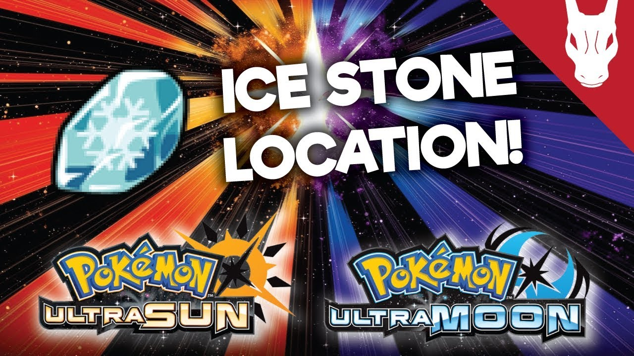 how to get ice stone in sun and moon