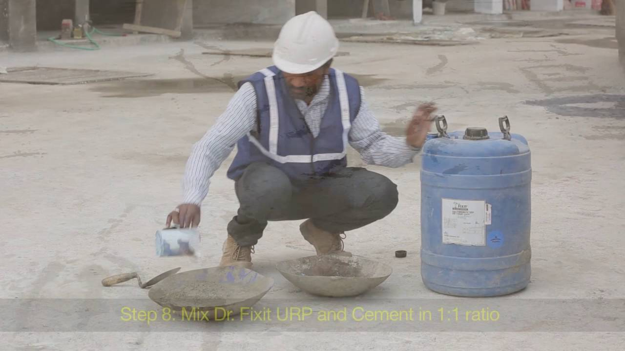 Dr Fixit Waterproofing For New Roofs Dr Fixit Roofseal Malayalam Youtube