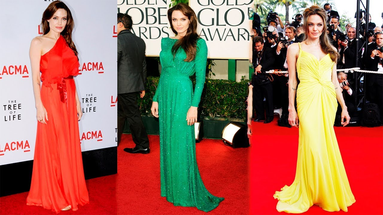 Angelina Jolie's Best Red Carpet Looks