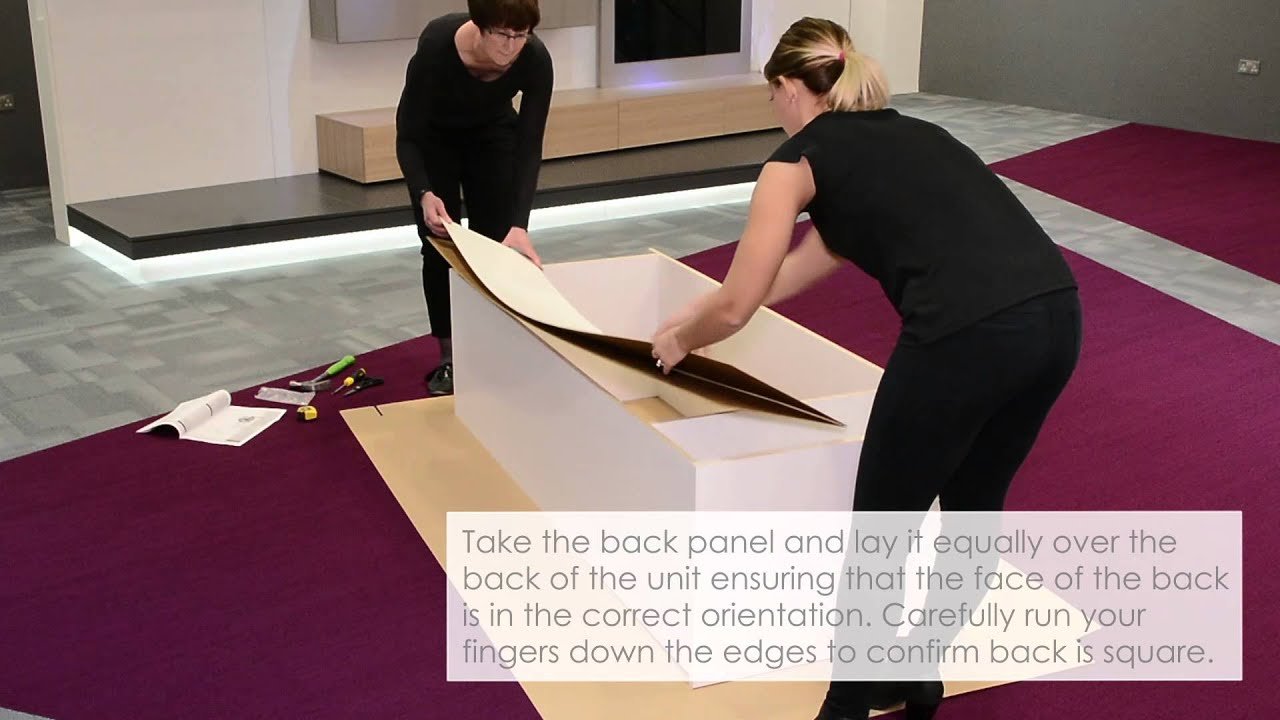 How To Square A Flat Pack Wardrobe And Fix The Back Panel