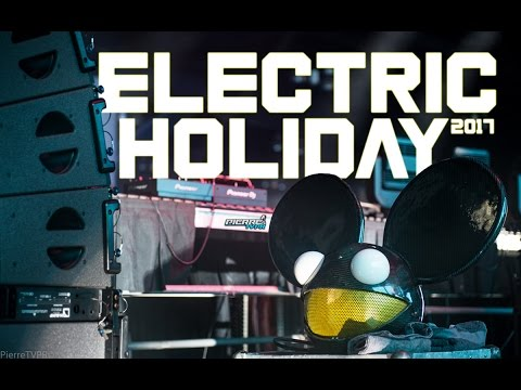 Modestep Deadmau5 Dano Ten Days More Electric Holiday 2017 Puerto Rico