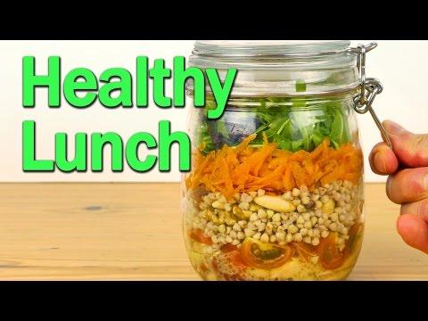 Healthy Lunch - Salad Jar
