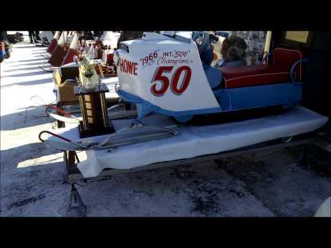 Greenbush and Roseau, MN Vintage Snowmobile Show, ASCOA, Strathcona Ice Snowmobile Races