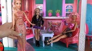 Видео с куклами, серия 487, Челси и Барби выбирают для Рапунцель платье на бал