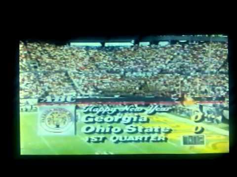 1993 Citrus Bowl Garrison Hearst TD