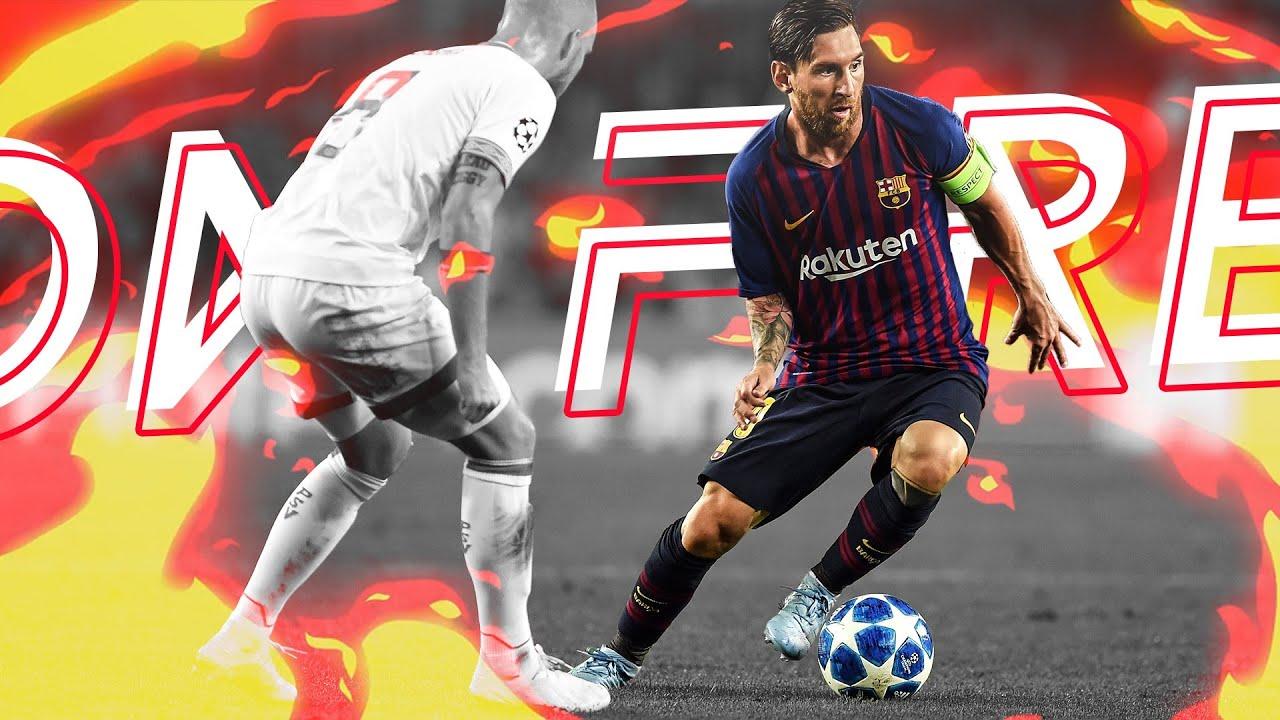 Lionel Messi - On Fire   Best Skills & Goals 2018/19 HD