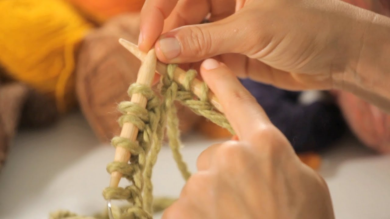 How to Cast On for Circular Knitting | Circular Knitting