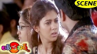 Jayam Ravi Fools Kamna Jethmalani In Class Room - Best Love Scene    Love Birds Movie Scenes
