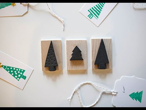 5-Minute Homemade Holiday Stamps Tutorial thumbnail