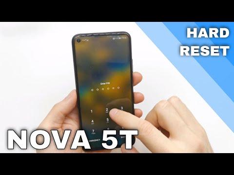 Huawei Nova 5T How to make HARD reset