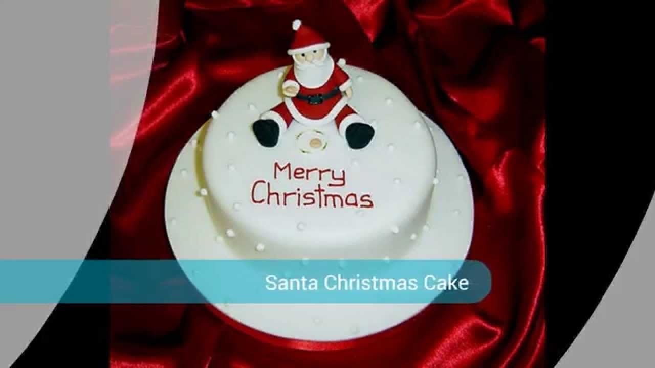 How to make a father christmas cake decoration - How To Make Santa Christmas Cake