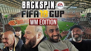 Pillath, Al-Gear, Pedaz, Bozza u.v.m: BACKSPIN FIFA 18 CUP WM Edition | ALLE SPIELE, ALLE TORE! 🏆⚽