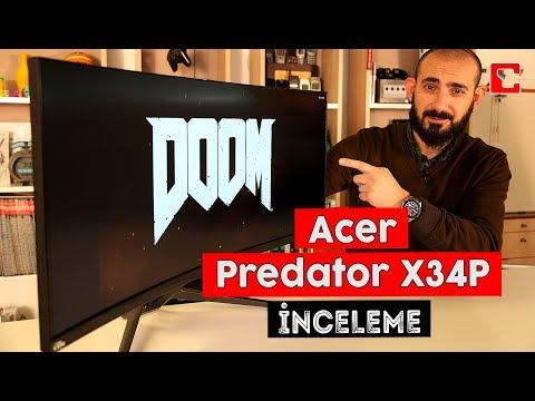 Acer Predator X34P İnceleme - Kavisli Oyuncu Monitörü