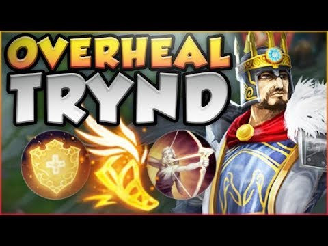 WHAT IS RIOT THINKING?? OVERHEAL TRYNDAMERE IS ACTUALLY SO DUMB! TRYND SEASON 8! - League of Legends