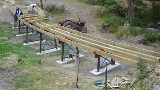 Boulder Creek Tramway - Trestle Bridge Construction Video