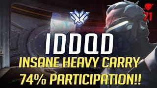 SF Iddqd - INSANE HEAVY CARRY KILL 74% PARTICIPATION!!