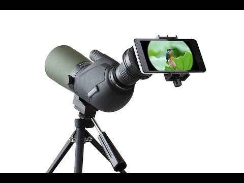 IPRee™ 15-45X60A Travel Monocular Bird Watching Telescope Spotting Scope HD Optic Zoom Lens Eyepiece