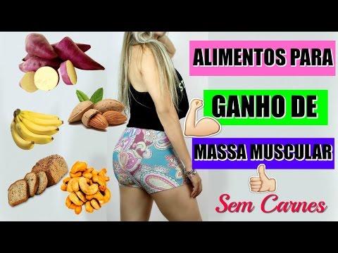 Alimentos que ajudam a GANHAR CORPO E AUMENTAR MASSA MUSCULAR (SEM CARNES)