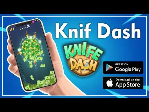KNIF DASH - COMO GANHAR DINHEIRO | 2020✔️