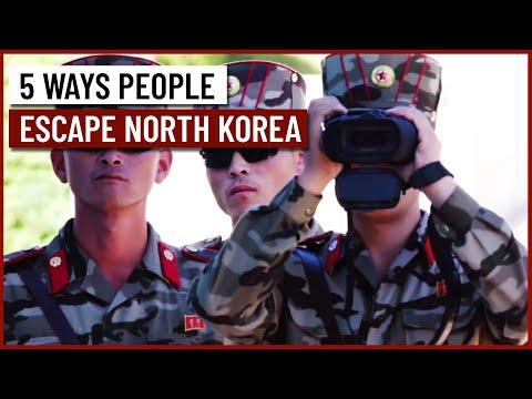 5 Ways People Escape North Korea