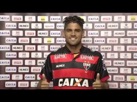 Atlético-GO apresenta Abuda, Daniel Borges e Roger Carvalho de uma vez