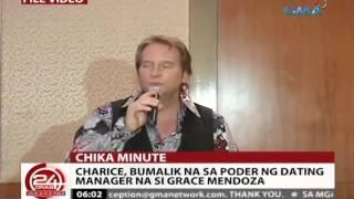 24 Oras: Charice, bumalik na sa poder ng kanyang dating manager
