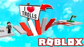 THE OBBY MORE TROLL AND DIFFICULT OF ROBLOX 😂