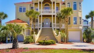 Custom Built Mediterranean-Style Home in Ocean Isle Beach, North Carolina