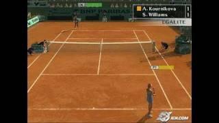 Smash Court Tennis Pro Tournament 2 PlayStation 2 Gameplay