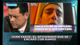 Tomás Roncero explota en Punto Pelota