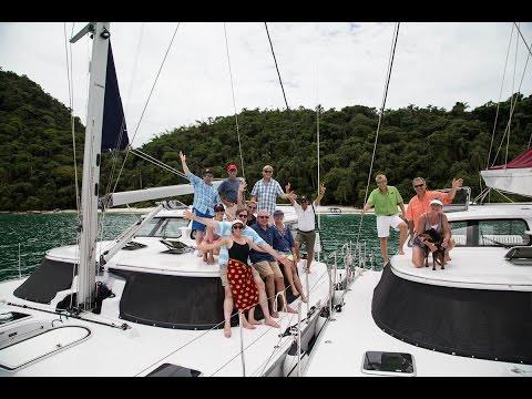 Antares Sailing Brazil's Costa Verde