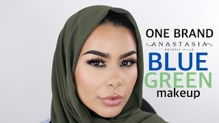 One Brand Makeup Tutorial: Anastasia Beverly Hills
