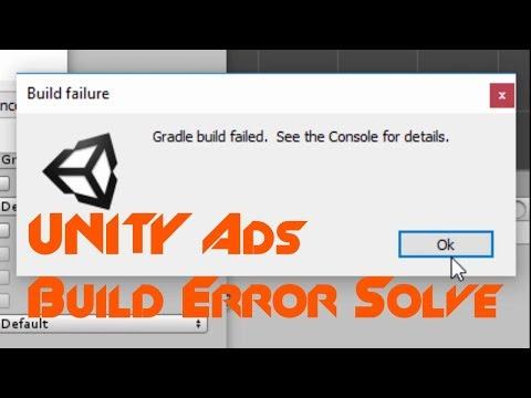 Unity Monetization SDK Gradle, Dex Build Error - YouTube